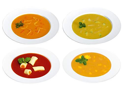 Kösers Probierpaket Gemüse-Suppen – 4 Kochbeutel (800 g) - Tiefkühlware