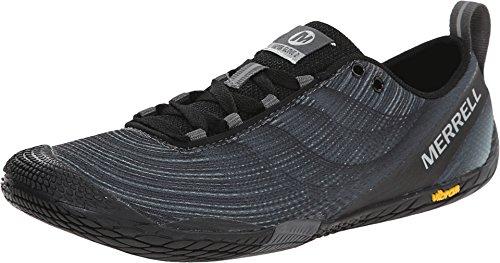 Merrell Women's Vapor Glove 2 Trail Running Shoe, Black/Castle Rock, 10 M US