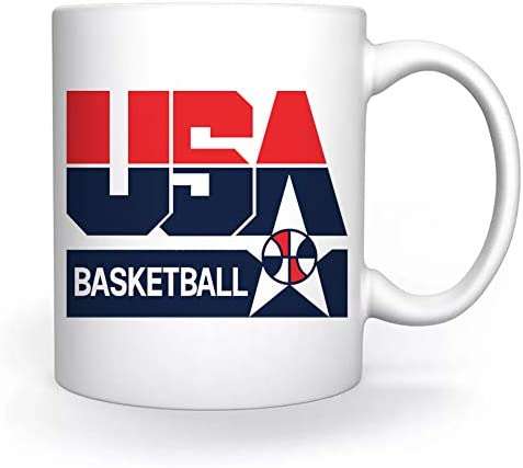 Usa 1992 Basketball America Dream Team Mok Wit Voor Koffie Thee Cappuccino Cacao Mug White Coffee Tea