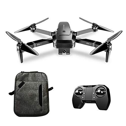 MEIGONGJU Professionelle Drohne GPS-Fernbedienung Hubschrauber Brushless-Motor intelligente Folge Quadcopter Mini Faltbare 4K WiFi Kamera-Drohne,Gray Box