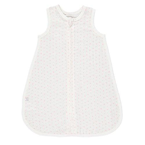 Noukies BB15003.50 Koralle Schlafsack aus Bambus, 50 cm, weiß