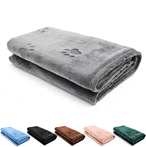 YINXUE Soft Pet Flannel Blanket