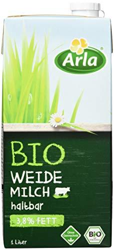Arla BIO Weidemilch haltbar 3.8% Fett, 12er Pack (12 x 1 l)