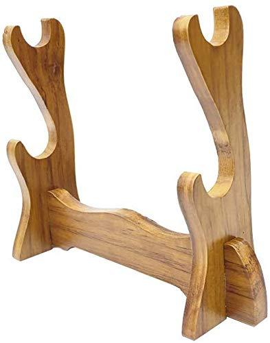 Knoijijuo Schwerthalter Montagesatz Samurai Schwert Katana Tanto Ständer Ständer Ständer Ständer Ständer Ständer Ständer Ständer Ständer Ständer,2*Tier