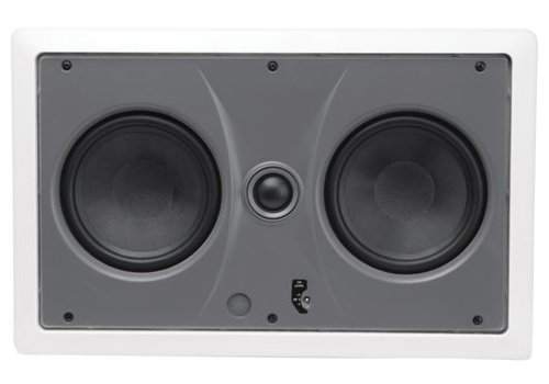 MTX CT2525LCR Wall Speaker 5 1/4 Inch Glass Fiber Woofers, 25 mm Soft Dome Pivoting Tweeters