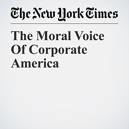 The Moral Voice Of Corporate America audiobook cover art