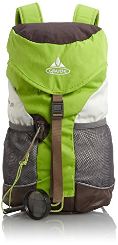 Vaude Unisex - Kinder Rucksack Puck 10, liters, brown/chute green, 15002