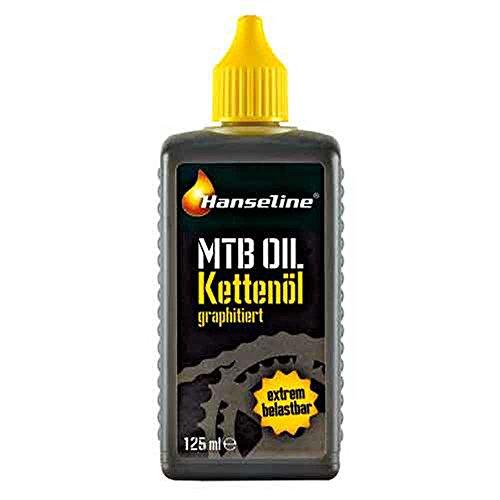 Hanseline 125 ml graphitiert-Einzelflasche Kettenöl, Mehrfarbig, One Size