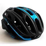 JTYX Casque Vélo De Montagne Vélo Hommes Femmes Anti-Ventilation Ventilation Equitation Extérieure Équipement De Protection avec Casques LED,Black,L