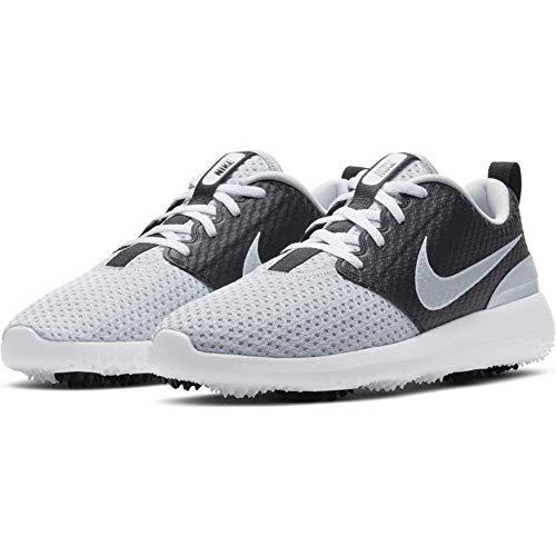 Nike Roshe G, Scarpe da Golf Donna, Pure Platinum Pure Platinum Black White, 38.5 EU