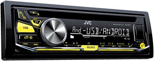 JVC KD-R571 Autoradio USB/CD-receiver met front-AUX-ingang zwart