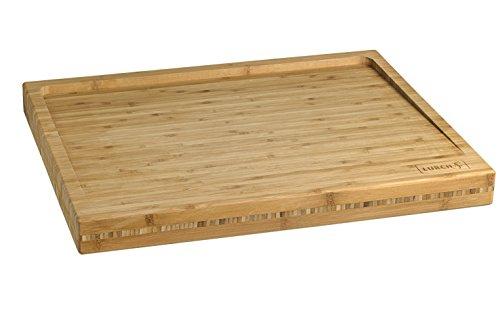 Lurch 10909 Planche à Découper Bambou 50 x 40 x 4,5 cm