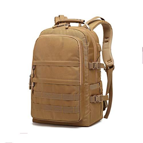 Sac à Dos pour Ordinateur Portable Sac à Dos de Voyage de 15,6 Pouces avec Port de Chargement USB Anti-vol imperméable Hommes et Femmes Voyage Camping au Travail School Backpack Kaki