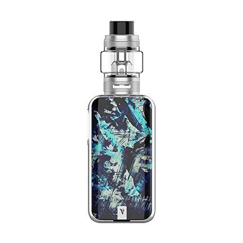 Cigarette électronique Kit Vaporesso Luxe II 220W TC avec réservoir NRG-S 8 ml alimenté par deux batteries 18650 avec sortie 220W sans nicotine sans batteries(Iceberg)