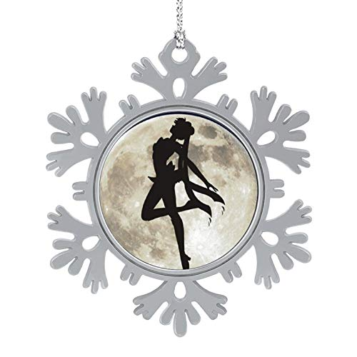 OPKSHNT Sailor Moon (71) Ornament Christmas Tree Decoration for Family Home Shopping Mall Club Hanging Tree Snowflake Ornament 1 PCS