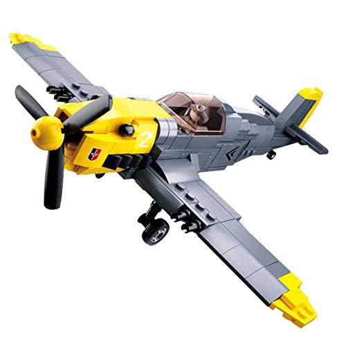 12che Kämpfer Minifiguren Militär Minifiguren Flugzeug Spielzeug für Kinder - (Mercedes Schmidt Fighter)