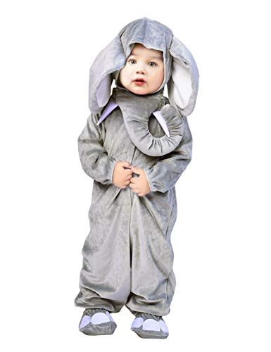IKALI Disfraz de bebé para niña, Mono del mameluco del elefante, Traje de ropa de dormir de pijama de Onesie 6 piezas