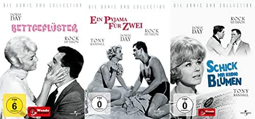 Doris Day Collection | Bettgeflüster | Ein Pyjama für Zwei | Schick mir keine Blumen [3-DVD] Keine Box