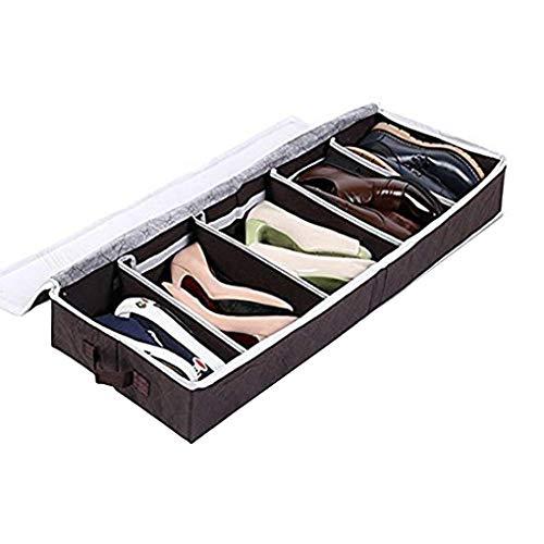 Caja de Almacenamiento no Tejido de Zapatos Zapatillas de Deporte Conijiwadi Organizador de Zapatos...