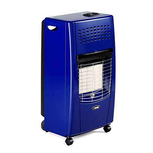 Bartolini IB202IT Stufa a Gas, 4200 W, Blu