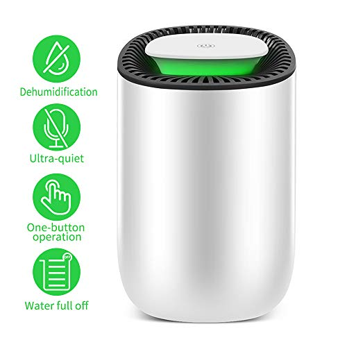Fantastic Deal! Honati Small Dehumidifier for Bedroom, Bathroom, Baby Room, RV, Wardrobe, Locker and...