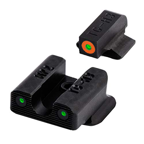 TRUGLO Tritium Pro Glow-in-The-Dark Handgun Night Sights for Smith & Wesson Pistols, S&W...