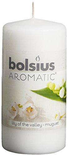Bolsius Aromátic–Vela aromática, aroma de lirio del valle