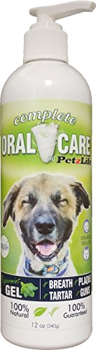 PetzLife Peppermint Oral Care Gel, 12-Ounce