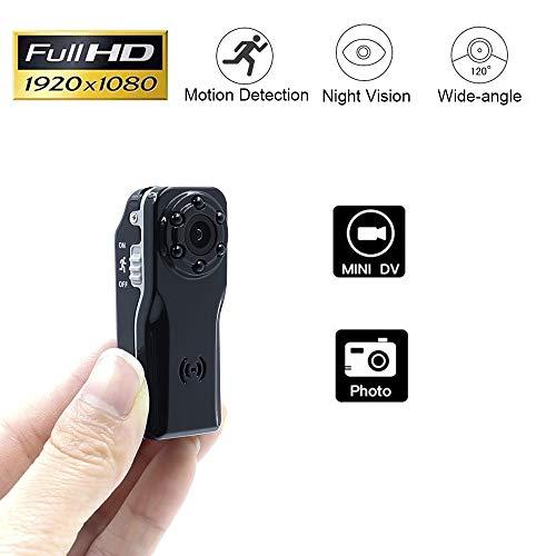 Mini Kamera TANGMI 1080P Tragbare Klein Überwachungskamera Nachtsicht Kamera mit Bewegungsmelder /Videoaufzeichnung