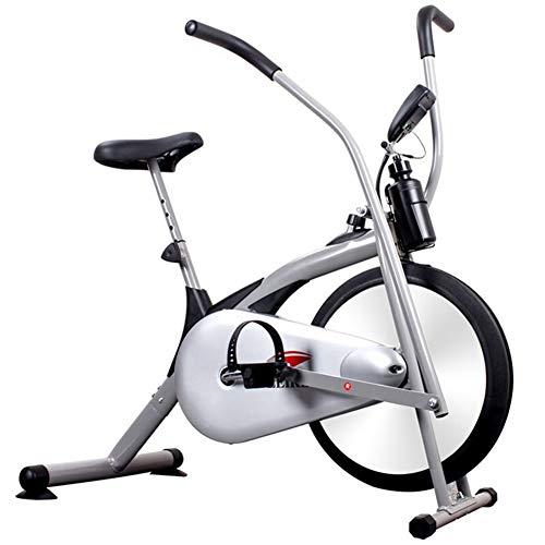 Xue La Bicicleta estática reclinada Vuelta Bici de Cubierta Equipo de Entrenamiento Bicicleta estacionaria con Pulse W/Pantalla LCD y pie Ajustable para la Oficina en casa