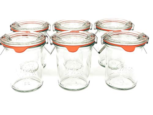 Weck Jar 6 Pack