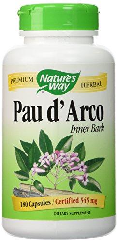 Pau dArco interior de la corteza, 545 mg, 180 cápsulas - Camino de la Naturaleza