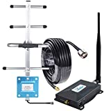 Verizon Signal Booster Connect 4G LTE Verizon Cell Phone Signal Booster Home 4G LTE Cell Phone Booster Repeater Amplifier 4G LTE Network Extender 700mhz Band 13 65dB,Boosts 4G Data & Calls-Whip+Yagi