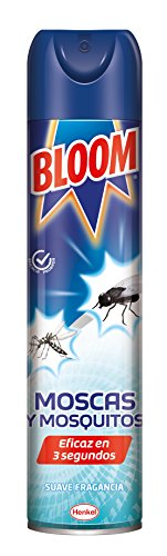 Bloom Moscas y Mosquitos Insecticida Aerosol - 600 ml