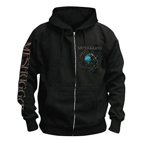 Meshuggah - Head - Kapuzenjacke/Zipper Größe XXL