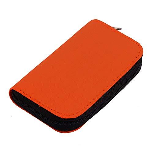 Ba30DEllylelly 4 Farben SD SDHC MMC CF Für die Aufbewahrung von Micro SD-Speicherkarten Tragetasche Box Hülle Schutzhülle Brieftasche Großhandel