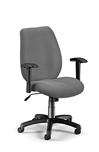 OFM Ergonomic Managers Chair, Graphite