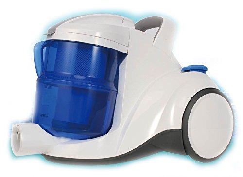PANTRA Multi-Zyklon Staubsauger Nass und Trockensauger mit Wasserfilter HEPA Filter beutellos auch für Allergiker