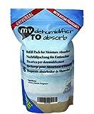 Sacchetto ricarica da 1 kg con sale assorbiumidità e conden