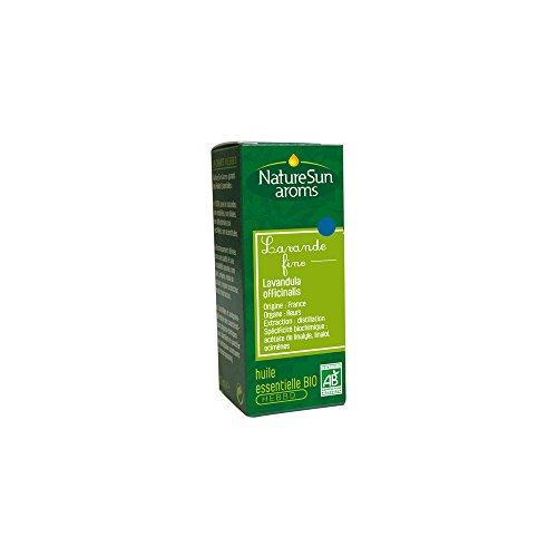 NatureSun Aroms Huile Essentielle Lavande Fine (Lavandula officinalis) Bio 10 ml