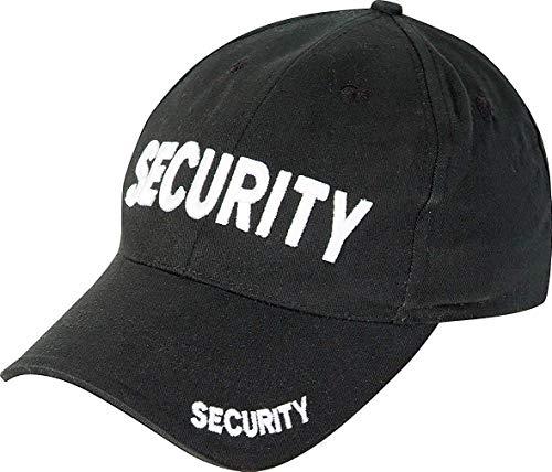 """Viper TACTICAL - Basecap mit Aufschrift """"Security"""" - für Wachpersonal, Sicherheitspersonal, Türsteher"""
