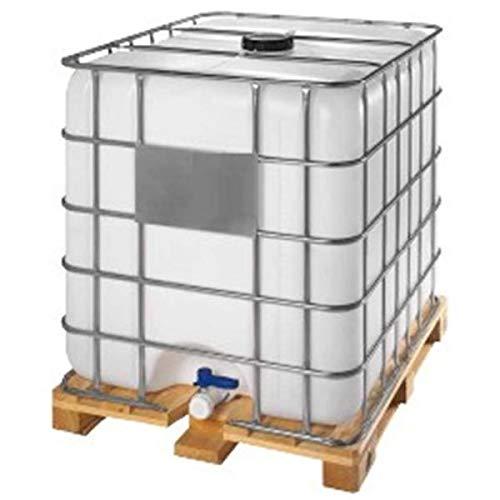 Contenedor depósito de 1000 litros IBC-GRG con palet de madera