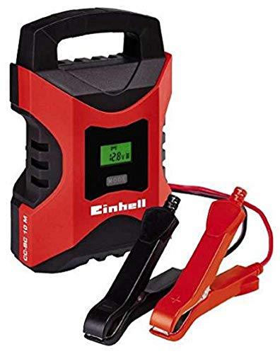 Einhell 1002241 Cargador Bateria CC-BC 10 m con Control Micro-Processor Voltaje 6/12v