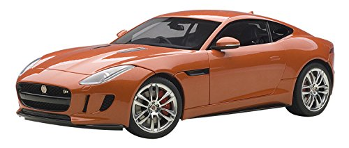 AUTOart - 73653 - Jaguar F-Type R - 2015 - Echelle 1/18 - Orange Métal