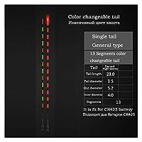 電池のない直径5.2mmの電気フロートの尾の1個の色の変化可能な尾の知能明るいフロートテール (色 : 23 color change tail)