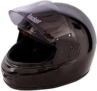 Ruf & Tuf Rocker Lightweight Sculpted Shell Full Face Helmet with Visor 580mm (Medium) ISI Certified