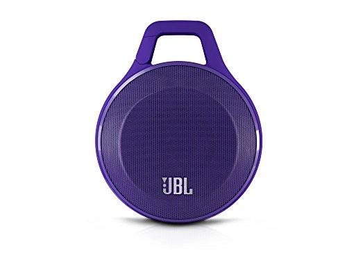 JBL Clip Ultra Tragbarer Robuster Aufladbarer Bluetooth Wireless Lautsprecher (Kompatibel mit Apple iOS und Android Smartphones, Tablets und MP3 Geräten) lila