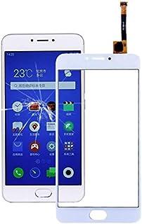 香港携帯電話の付属品 Meizu M3 Note/Meilan Note 3(M681H中国版)タッチスクリーン 交換部品 (色 : 白)