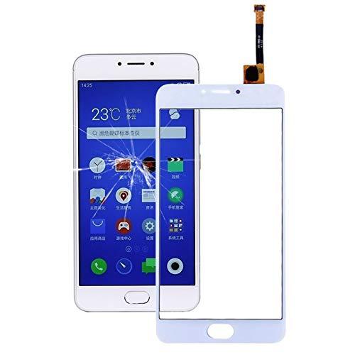 GGAOXINGGAO Pieza de reemplazo del teléfono móvil Meizu M3 Note/Meilan Note 3 (M681H versión China) Pantalla táctil Piezas de Repuesto de teléfono (Color : Blanco)
