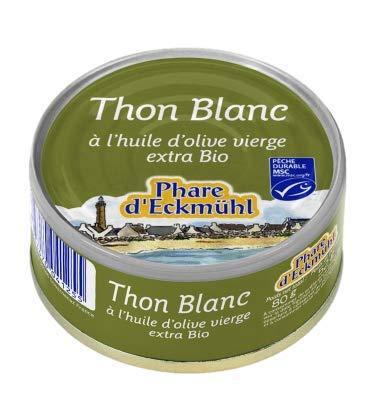 Phare d'Ecmühl Thon Blanc BIO 80 g 1 Unité